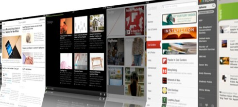 Personlige nyheter på iPad