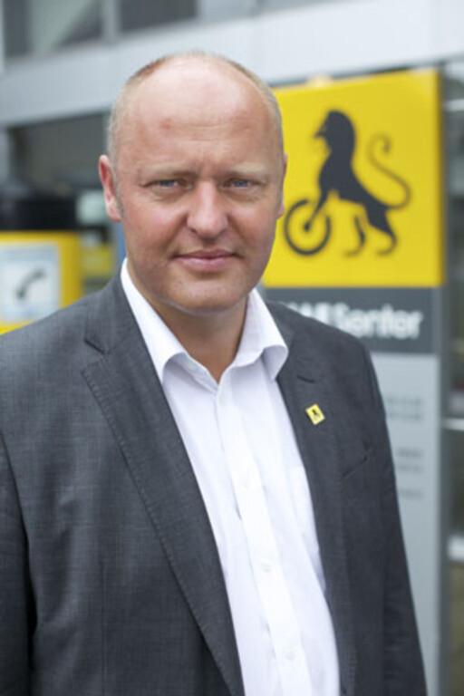 RELATIVT FORNØYD: Administrerende direktør i NAF, Stig Skjøstad Foto: NAF