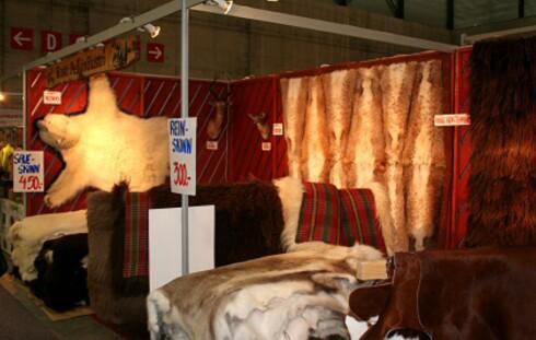 Trenden med å bruke pels i interiør kan ha bidratt til å øke forekomsten. Her fra en publikumsmesse et par år tilbake.  Foto: DinSide