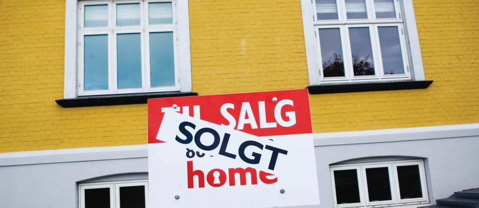 Boligprisene steg 0,4 prosent i september.  Foto: Colourbox.com