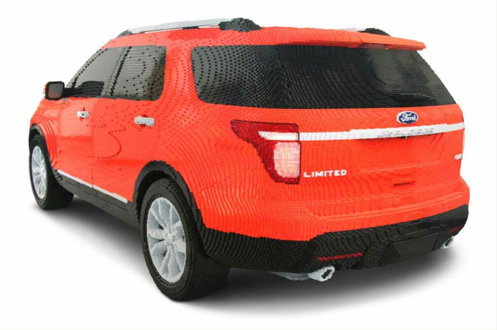 Ford Explorer av legoklosser
