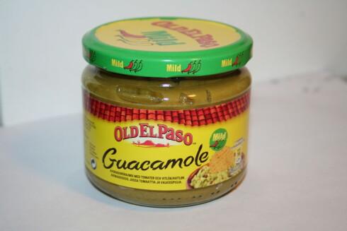 En meksikaner kan sin guacamole, og denne var grusom, ifølge vår smakstester. Foto: BERIT B. NJARGA