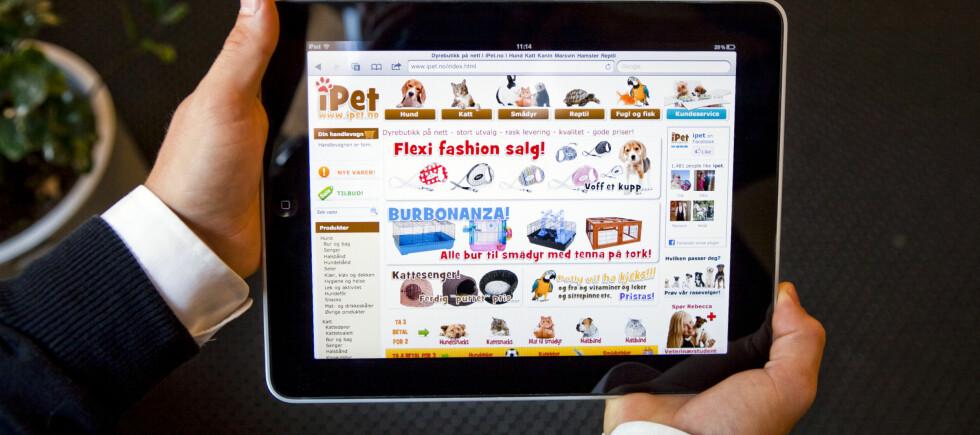Dyrenettbutikken iPet.no er kåret til landets beste nettbutikk. Foto: Per Ervland