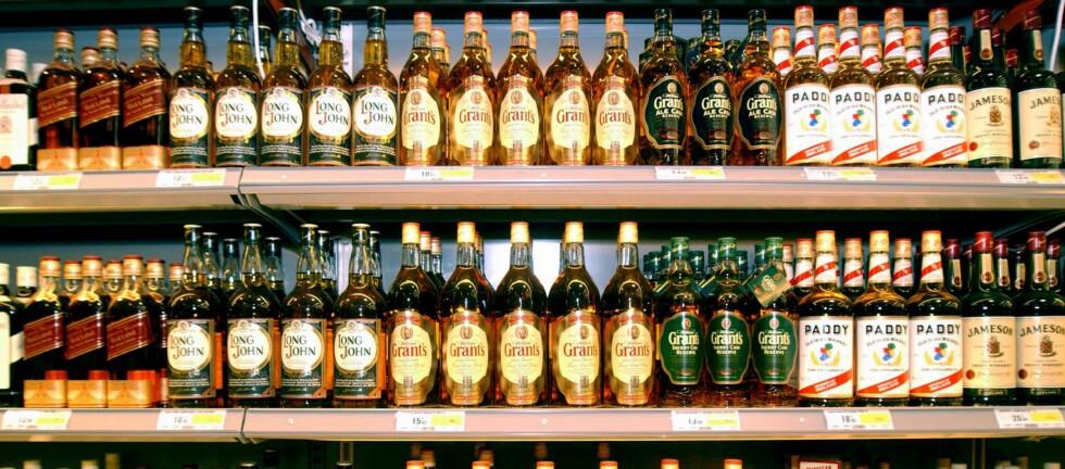 Kunne du tenke deg en Whisky-flaske i millionklassen? Da bør du sjekke ut arrangementet på flyplassen i Singapore. Foto: colourbox.com