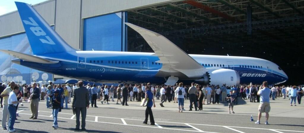<strong>UNDERHOLDNING:</strong> Boeings Dreamliner - nå også med Android. Foto: Wikipedia Commons