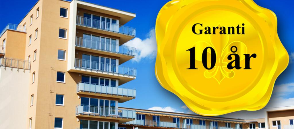 <b>UTVIDET GARANTI PÅ NYBYGG?</b> Skanska innførte ti års garanti på nye boliger i sommer. Flere entreprenører DinSide har snakket med, sier de <i>vurderer</i> saken, men ennå har ingen kommet etter. Foto: colourbox.com/Kristin Sørdal