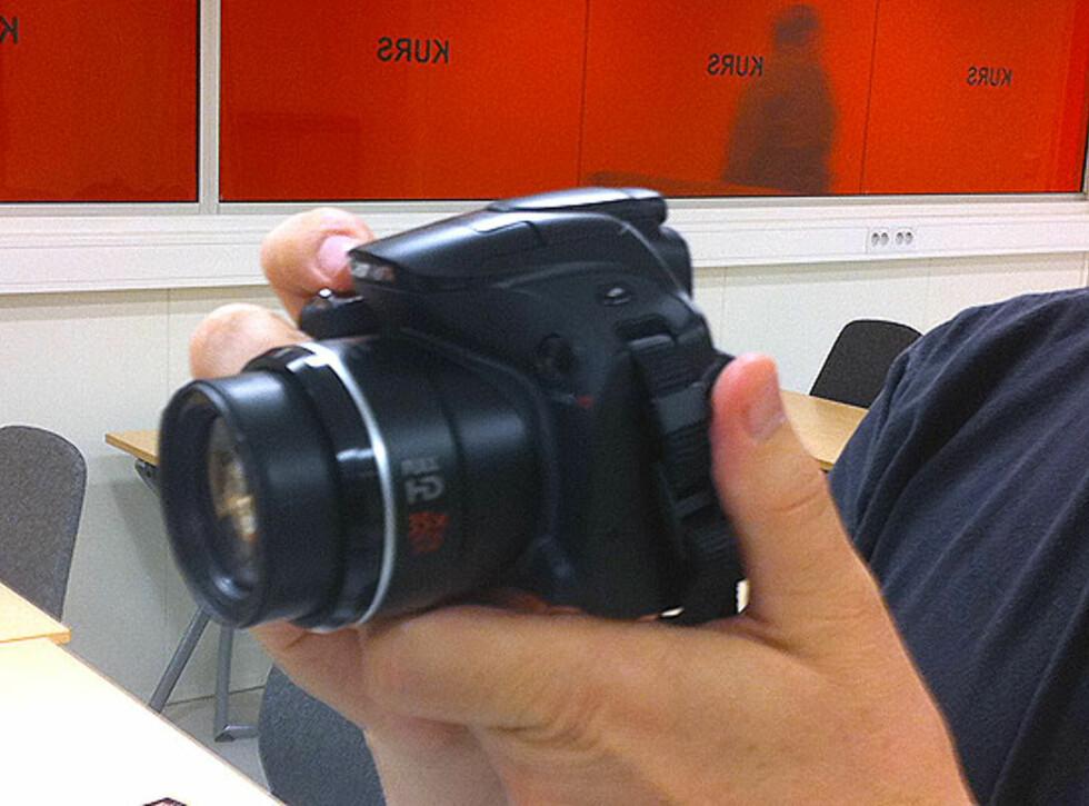 PowerShot SX40 HS Foto: Bjørn Eirik Loftås