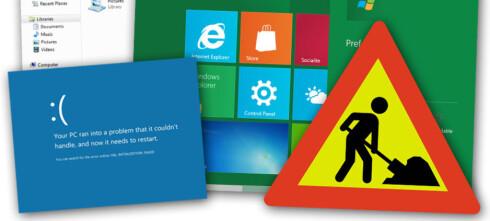 Vi har prøvd Windows 8