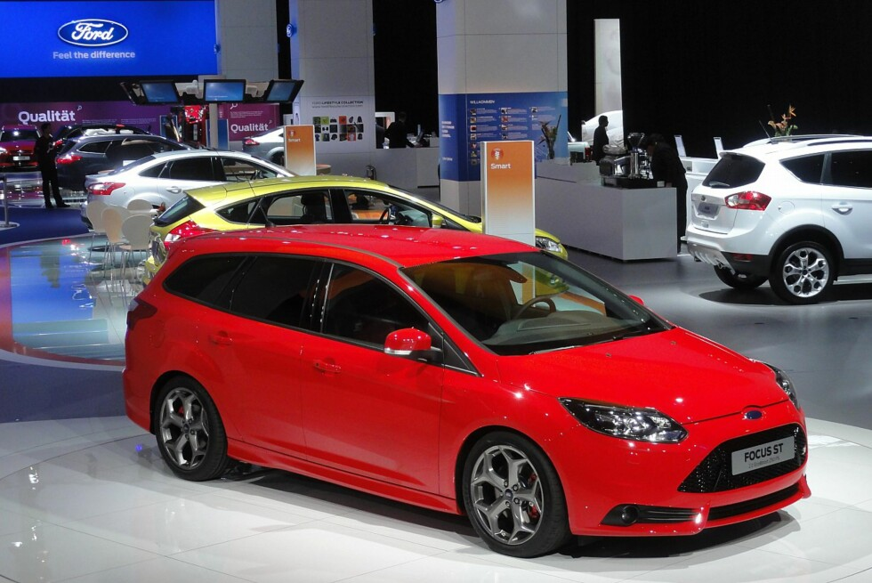 Joda, det stemmer: Ford Focus ST anno 2011 kommer, i motsetning til forgjengeren, som stasjonsvogn. Foto: Fred Magne Skillebæk