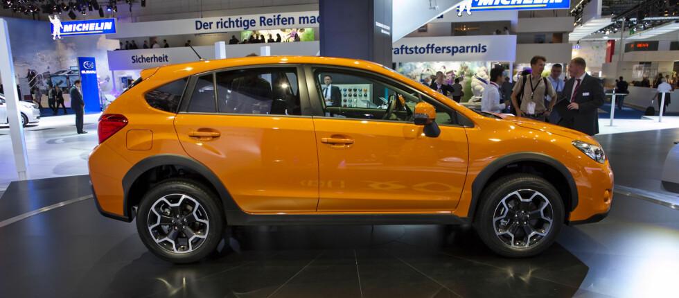Subaru XV skal utfordre biler som Mitsubishi ASX og Nissan Qashqai Foto: Per Ervland