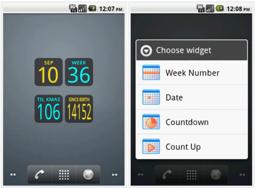 10 fine klokke-widgets til Android
