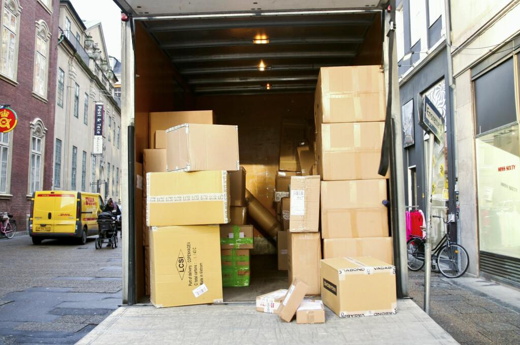 Å levere ut pakker når ingen er hjemme, er meningsløst, mener DinSides journalist. Foto: Colourbox