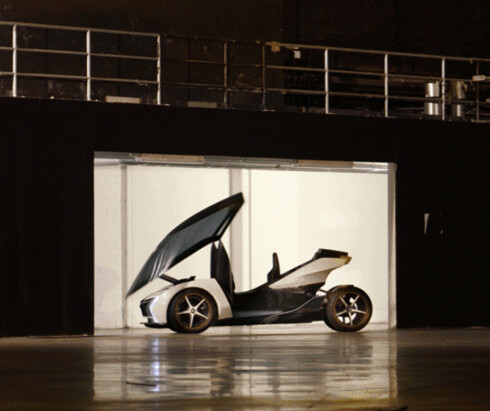Opel med 1-euro-bil
