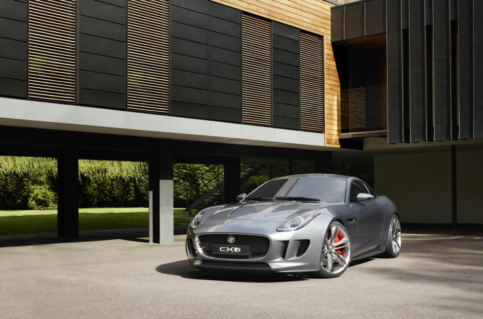 Jaguar C-X16: Dette er Jaguars design overført til neste generasjon, ifølge designsjef Ian Callum. Foto: Jaguar