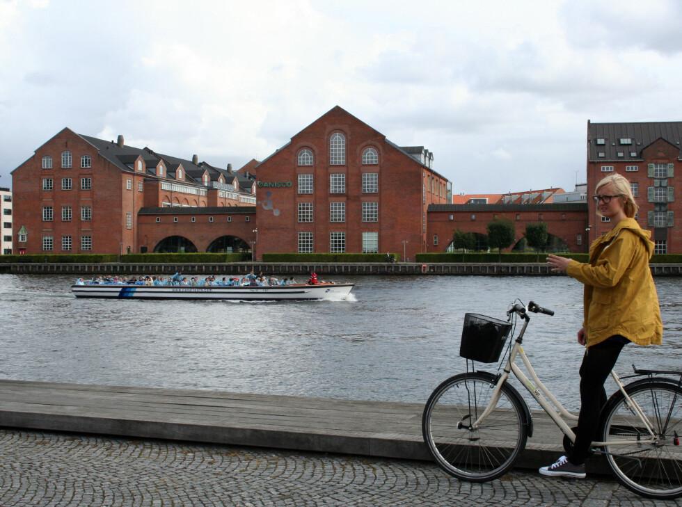 Denne sykkelen lånte vi at Wake Up Copenhagen for 115 kroner dagen. Foto: Silje Ulveseth