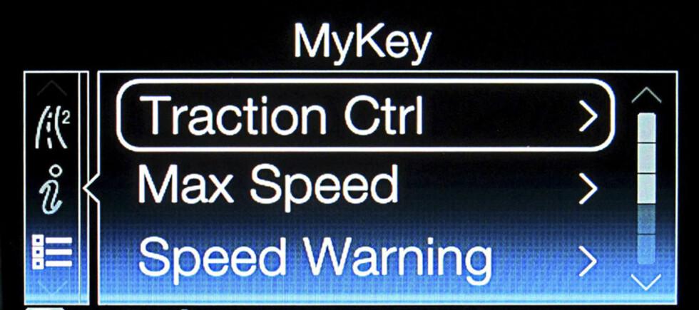 Ford MyKey gir deg makt