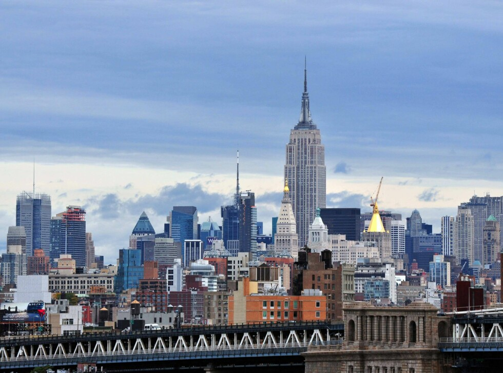 Empire State Building er skyskrapernes grand old lady. Foto: Colourbox.com
