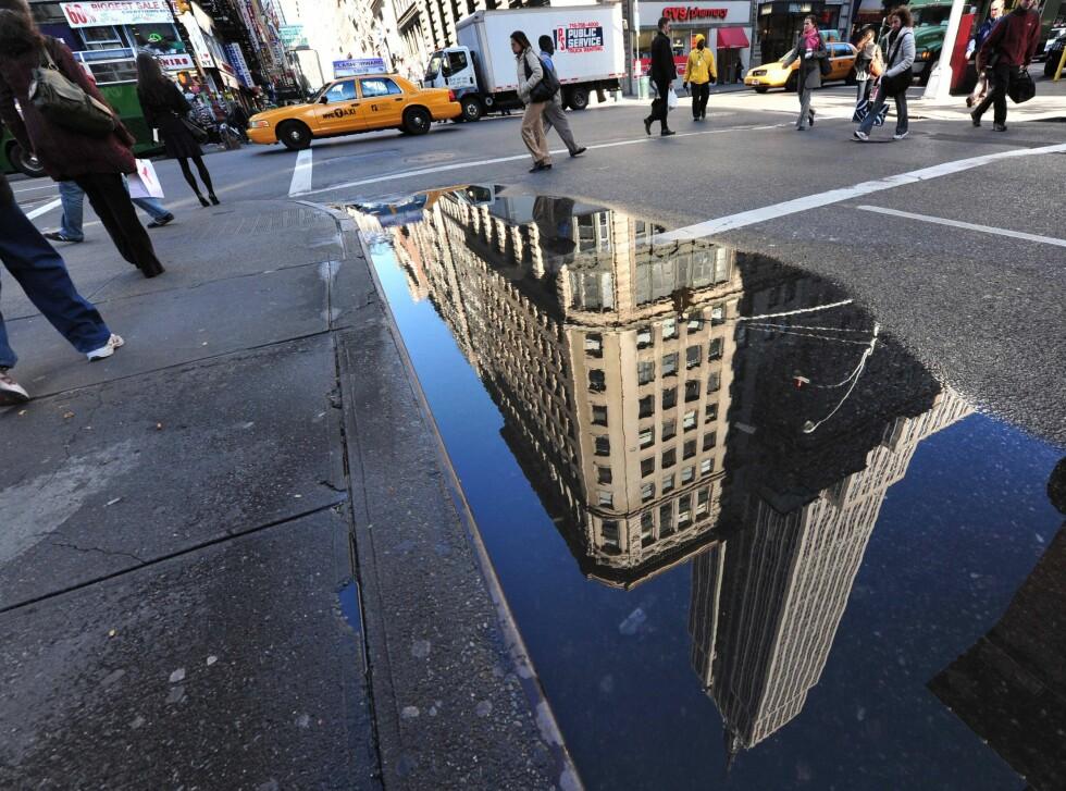 Empire State er et landemerke, naturlig nok, og nesten uansett hvor du befinner deg i New Yorks gater, så kan du navigere etter gigantbygget. Foto: Colourbox.com