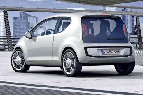 Også VW up! kan komme som elbil.