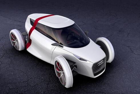 Audi 1+1 vises også i Frankfurt.