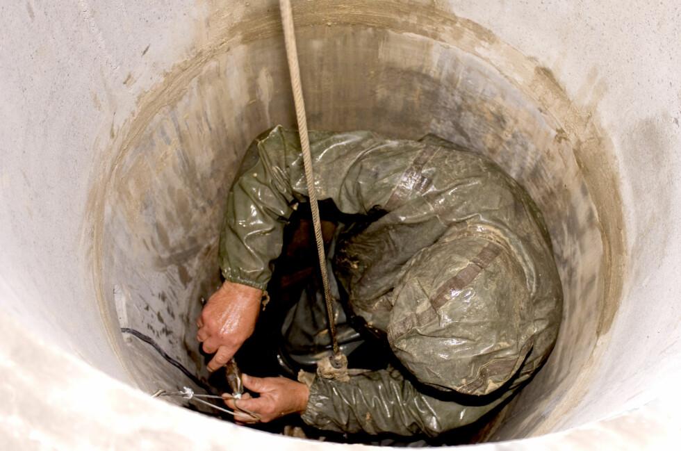DRITTJOBB: For at kommunen skal ta seg av kloakken din må du betale. I noen kommuner en hel del.  Foto: Colourbox