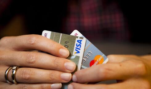 Å betale ned kredittkortgjeld gir en bedre avkastning enn å spare i banken.  Foto: Per Ervland