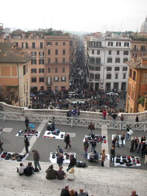 ROMA: Alle unntatt frisøren venter seg tips i Roma, men ikke så mye at det svir av budsjettet ditt.