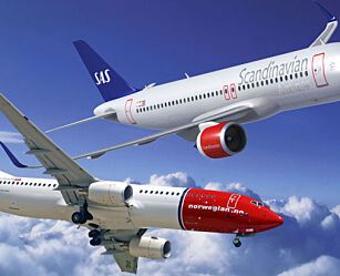 image: Norwegian billigst på Europareiser