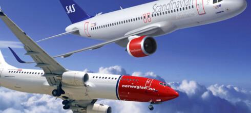 Norwegian billigst på Europareiser