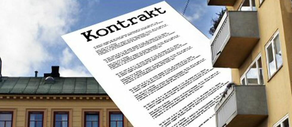 Det kan være fristende å sjekke leieboerens finansielle status før dere skriver kontrakt.  Foto: Per Ervland