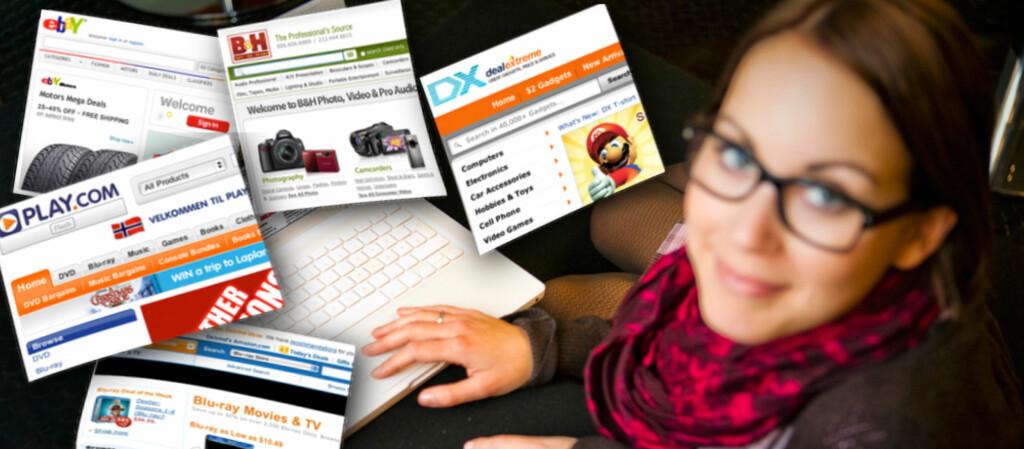 Silje Ulveseth, journalist i DinSide, handler gjerne på nettet. I artikkelen avslører hun en av sine favorittbutikker.