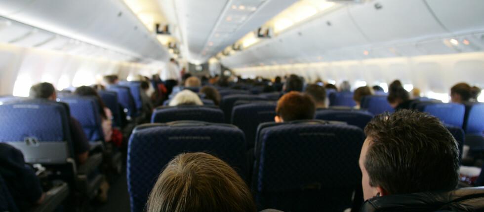 Noen flyselskap mangler rad nummer 13 på grunn av overtro. Foto: Colourbox