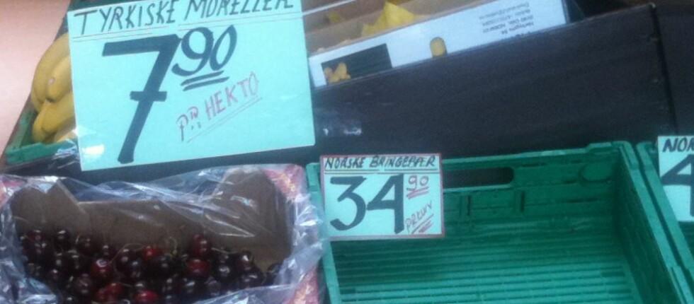 Hva er egentlig kiloprisen? Foto: Kristin Sørdal