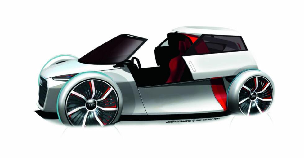 Audi 1+1 Urban Concept