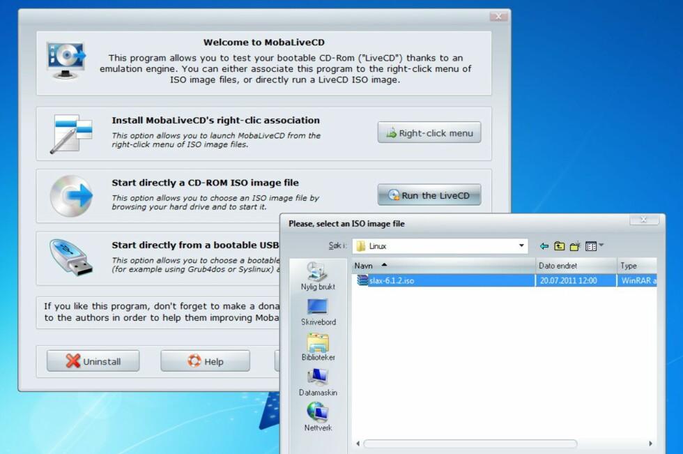 Kjør Linux som et Windows-program