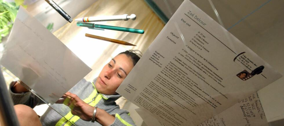 Enkle forberedelser kan gjøre CV-en betydelig bedre. Foto: COLOURBOX.COM