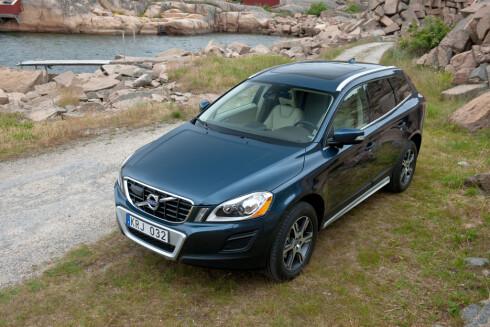 XC60 var først med City Safety da den ble lansert i 2008 Foto: Volvo