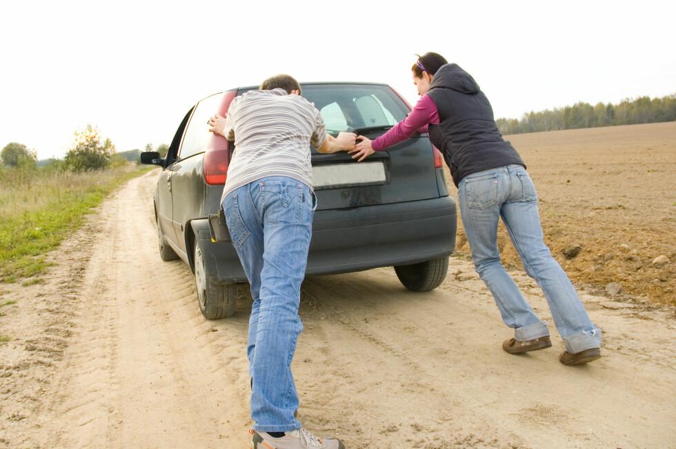 DYRT: Streiker bilen i utlandet risikerer du å måtte betale toll på reperasjonen.  Foto: Colorbox