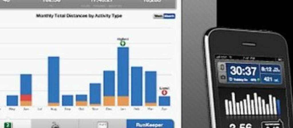 Nå er det enklere enn noen gang å få trent i ferien! Alt du trenger er en mobil og noen apps.