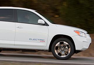 Toyota bekrefter elektrisk RAV4