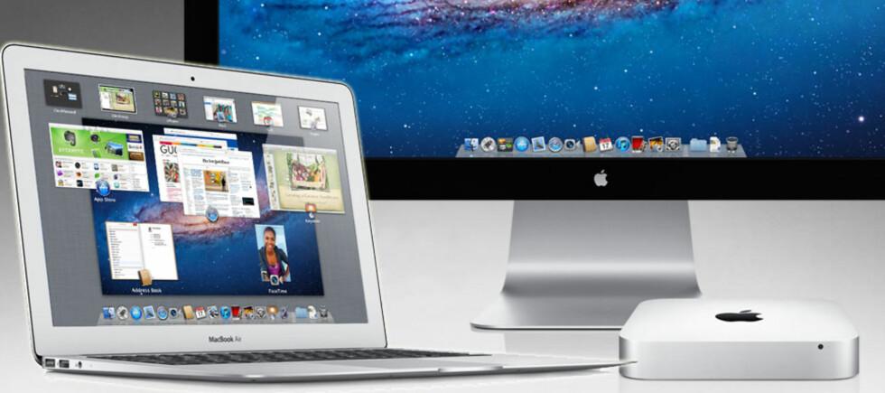 Den nye Macbook Air skal være inntil 2,5 ganger kjappere enn forgjengeren. Foto: Apple
