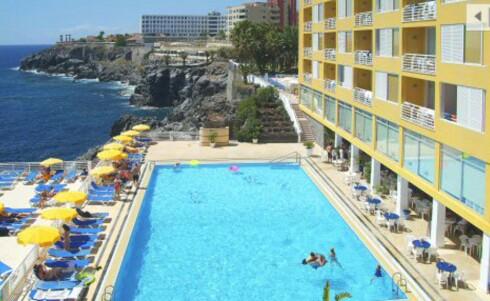 På dette hotellet på Tenerife kan du bo til rabattpris i august. Foto: Apollo