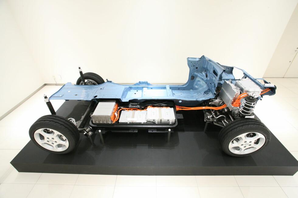 <strong><b>PRISET:</strong></b> Batteripakken i Nissan Leaf koster netto under 35.000 kroner, i det minste i USA. Foto: Nissan