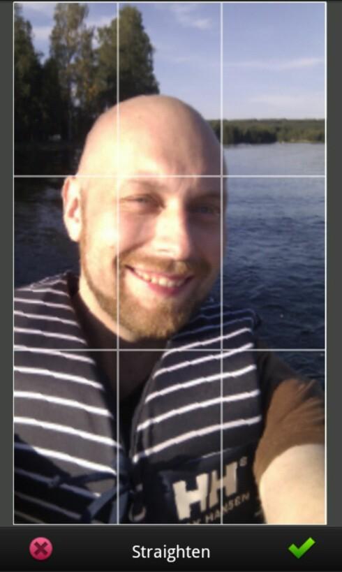 Med Photoshop express kan du rette opp skjeve horisonter lett som en plett.