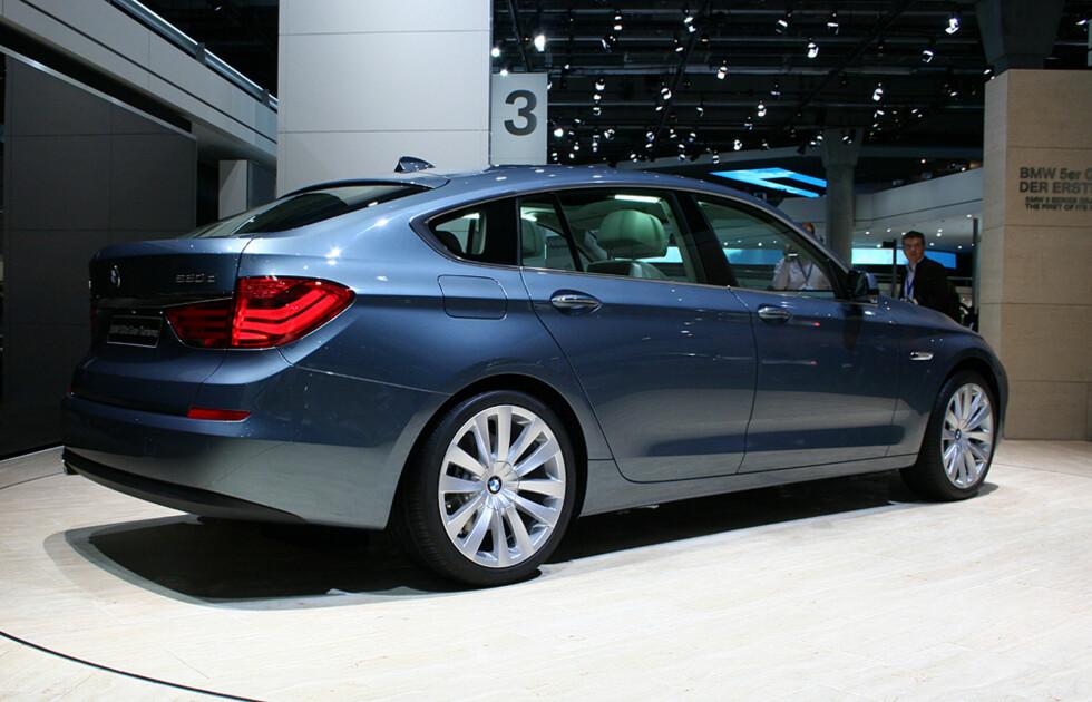 Dette er storebror til nykommeren og pionér i BMWs originalt definerte GT-klasse - 5-serie Gran Turismo. Foto: Knut Moberg