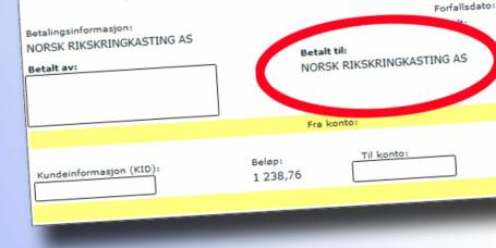 Rådyrt å glemme NRK-lisensen i ferien