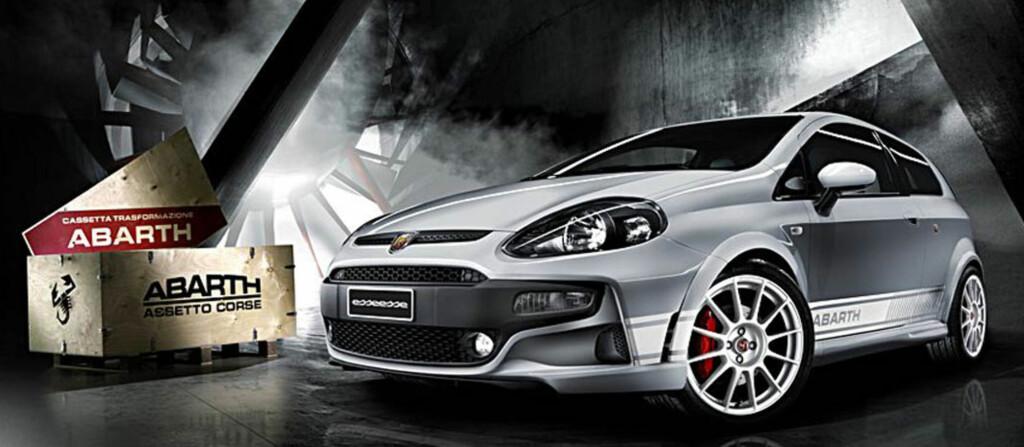 Fiat Grande Punto kom i 2005 og bidro til å redde den italienske bilprodusenten. Nå heter den Punto Evo og Abarths versjon er <em>GTI</em>-utgaven. Foto: Fiat