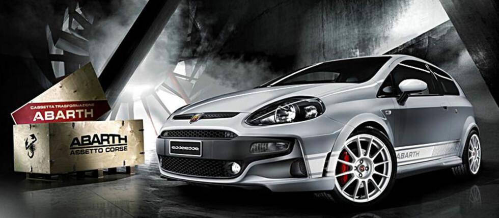 Fiat Grande Punto kom i 2005 og bidro til å redde den italienske bilprodusenten. Nå heter den Punto Evo og Abarths versjon er GTI-utgaven. Foto: Fiat