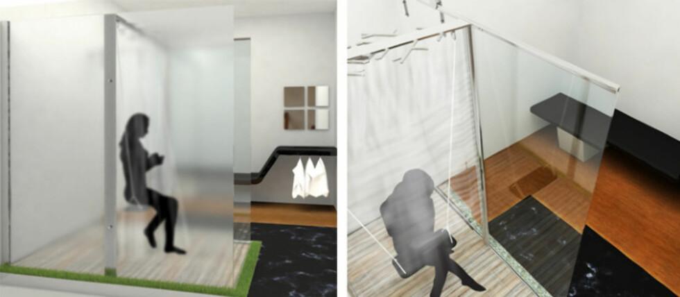 EN ANNERLEDES DUSJ-OPPLEVELSE: Hvorfor ikke kombinere dusjen med en husketur? Foto: Gustavo Macedo