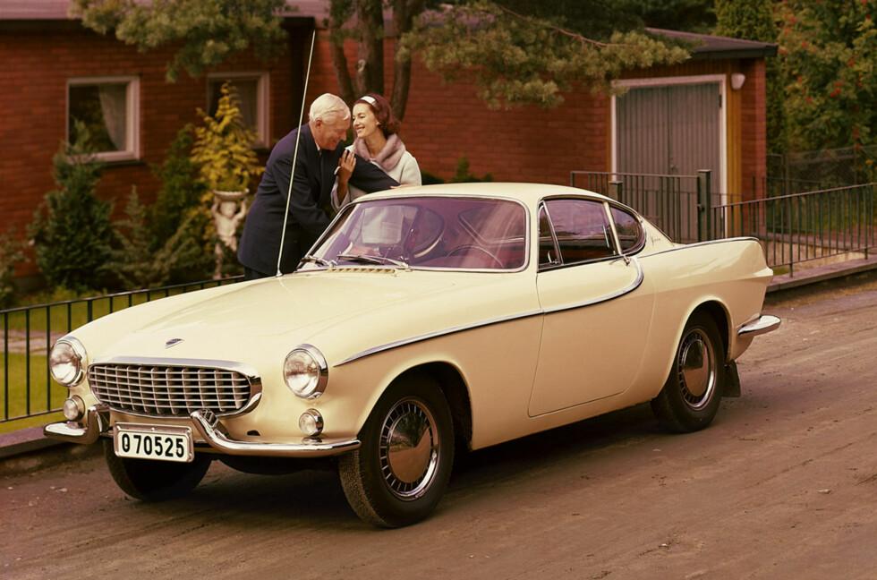 Volvo P1800 har satt spor i mange minner. Den gjorde mer enn de fleste modellene Volvo kjent internasjonalt og særlig i USA. Foto: Produsenten